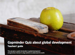 Teacher's guide: Global Development Quiz